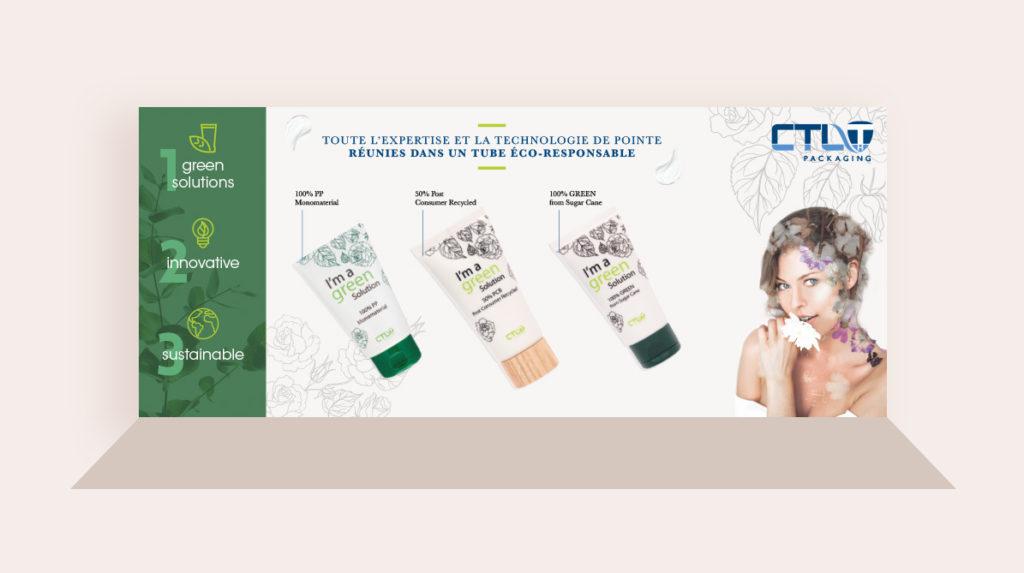 Stand pour une société de packaging