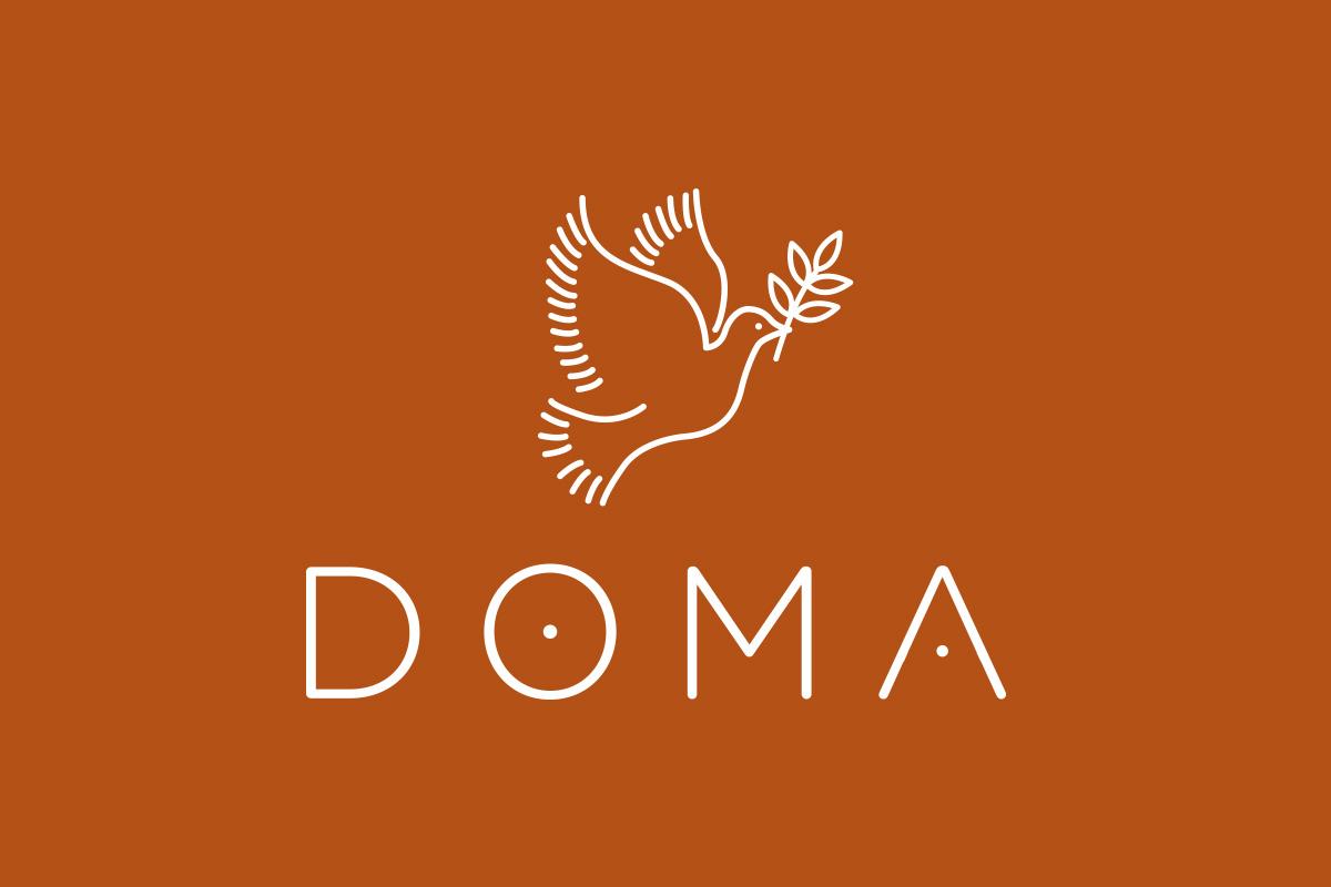 Création du logo pour le concept-store DOMA
