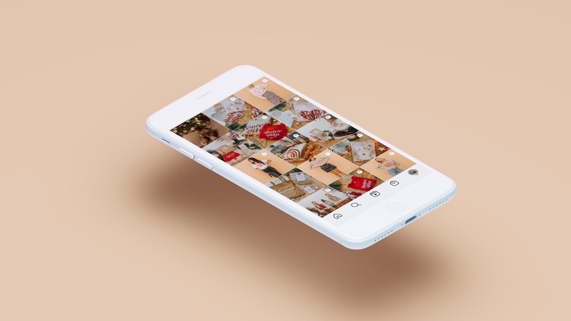 Création de contenus créatifs pour Instagram
